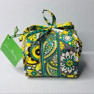 NWT Vera Bradley All Wrapped Up Lemon Parfait Case